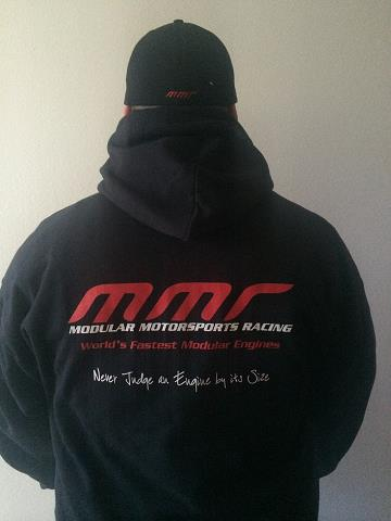 MMR Pullover Hood / Hoodie - Click Image to Close