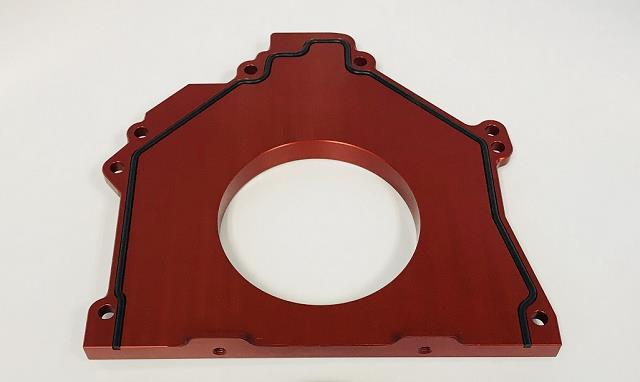 Ford Billet Rear Main Seal Housing cover / block support 4.6/5.4 - Click Image to Close