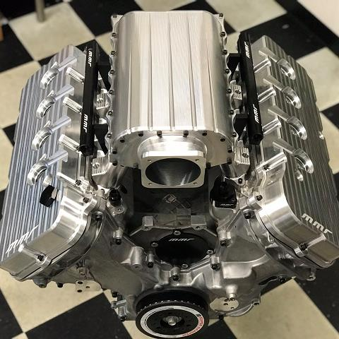 MMR Billet Intake Manifold 5.0 Coyote 2011 + Mustang GT / F150 - Click Image to Close