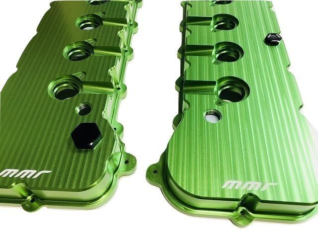 MMR Billet Valve Covers 5.0 Coyote 2011-17 Mustang & F150 - Click Image to Close