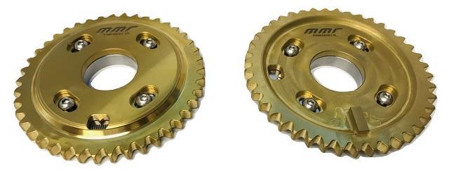 MMR Billet Adjustable Camshaft Gears Ford 4.6 & 5.4 SOHC / DOHC - Click Image to Close